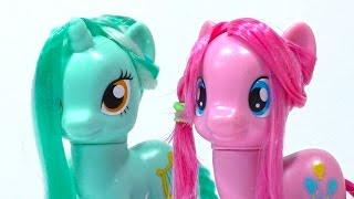Прически Пони Хаирстайлинг Выпуск №10 Как сделать прическу для пони Лиры