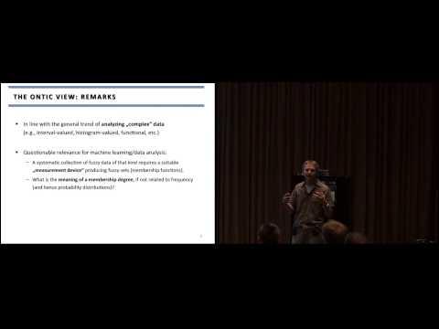 """Learning from Imprecise and Fuzzy Data (...)"" Dr. Eyke Hüllermeier (IJCCI 2013)"