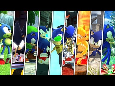 SONIC GENERATIONS : Into The Sonic Verse