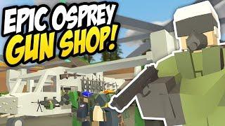 OSPREY GUN SHOP - Unturned Mobile Shop | Modded Guns For Sale!