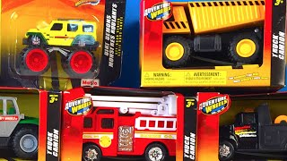 ADVENTURE WHEELS MIGHTY MACHINES TRUCK TRAILER AMBULANCE DUMP TRUCK FRONT LOADER FIRETRUCK TOW TRUCK