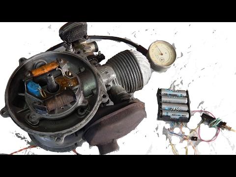 Настройка зажигания стробоскопом-бензопила