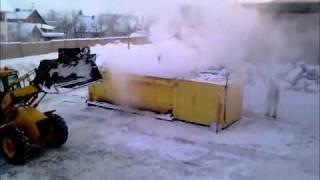 Снегоплавильная установка ОСА-21