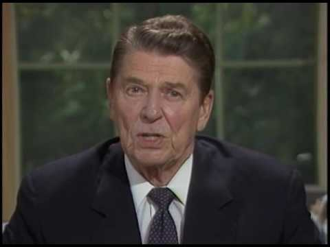 President Reagan's Address to the Nation on Iran-Contra Affair from the Oval Office, August 12, 1987