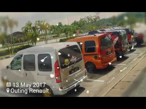 Renault Kangoo Outing With Friend