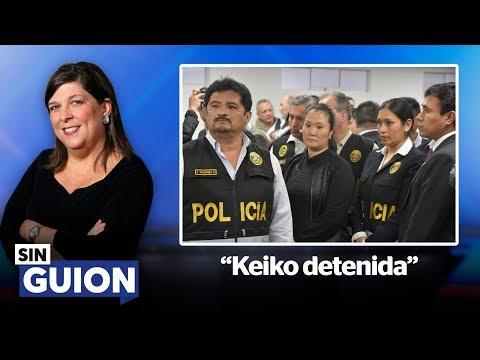 Keiko detenida - SIN GUION con Rosa María Palacios