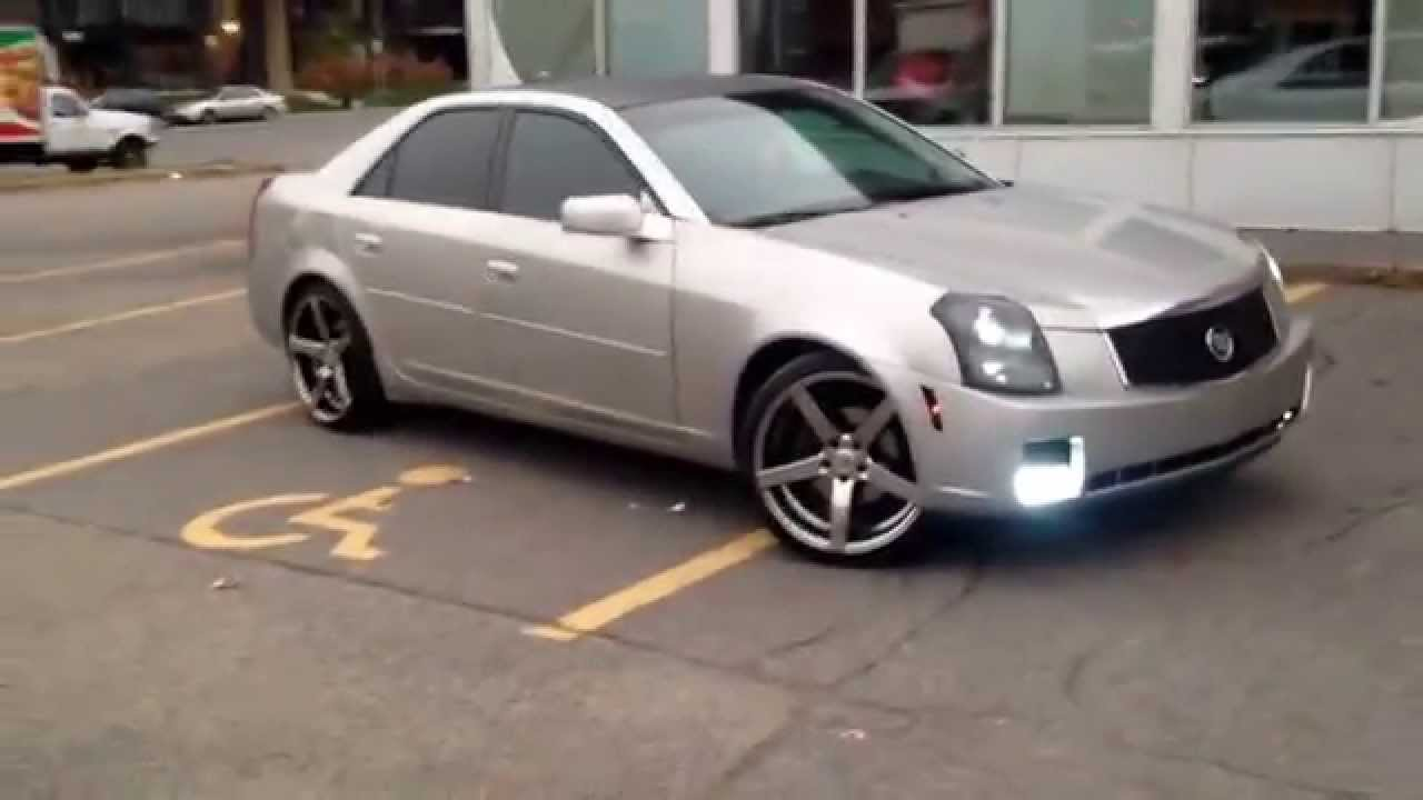 Cadillac Cts On 20s Youtube