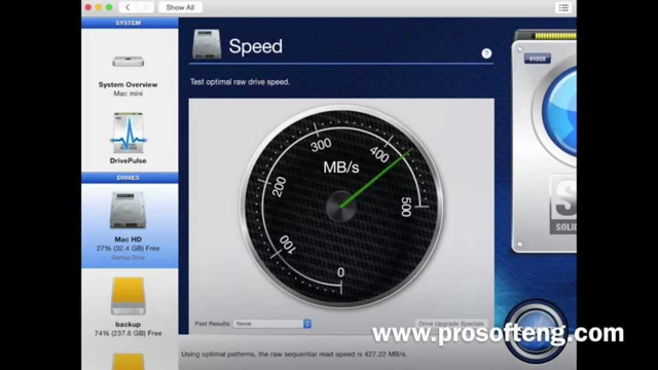 How To Test the Speed of Your Mac Hard Drive
