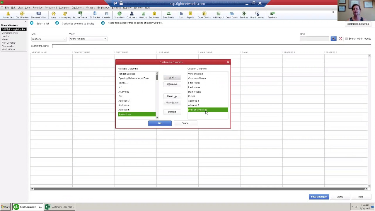 Lincoln Laconia NH QuickBooks® Help Training Cleanup Setup