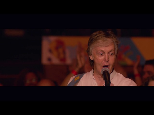 Paul McCartney on handling crowds, and why he calls Donald