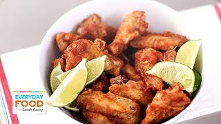 Fiery Salsa Hot Wings - Everyday Food With Sarah Carey