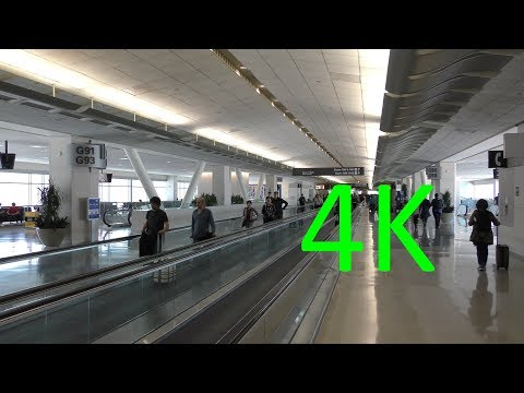 A 4K Tour of San Francisco International Airport (SFO)