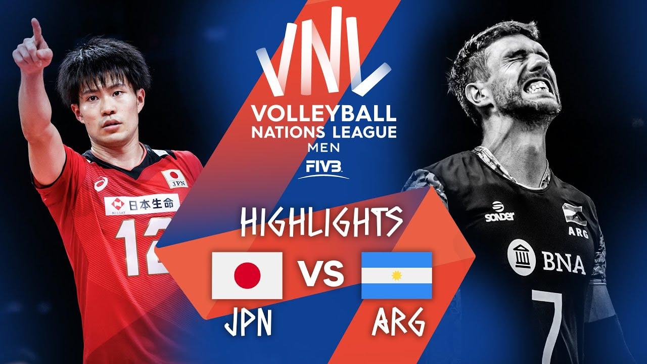Download JPN vs. ARG - Highlights Week 3 | Men's VNL 2021