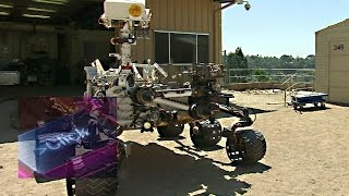 NASA's Curiosity Mars rover up close - BBC Click