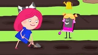 Мультики - Смарта и Чудо-сумка - Огород - Развивающие мультфильмы