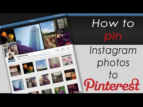 How To Pin Instagram Os To Pinterest