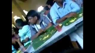 Kerala funny marriage dinner real video