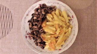 Картошка с грибами по домашнему