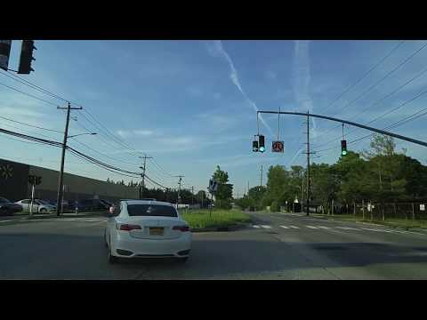Driving from Levittown to East Meadow in Nassau,New York