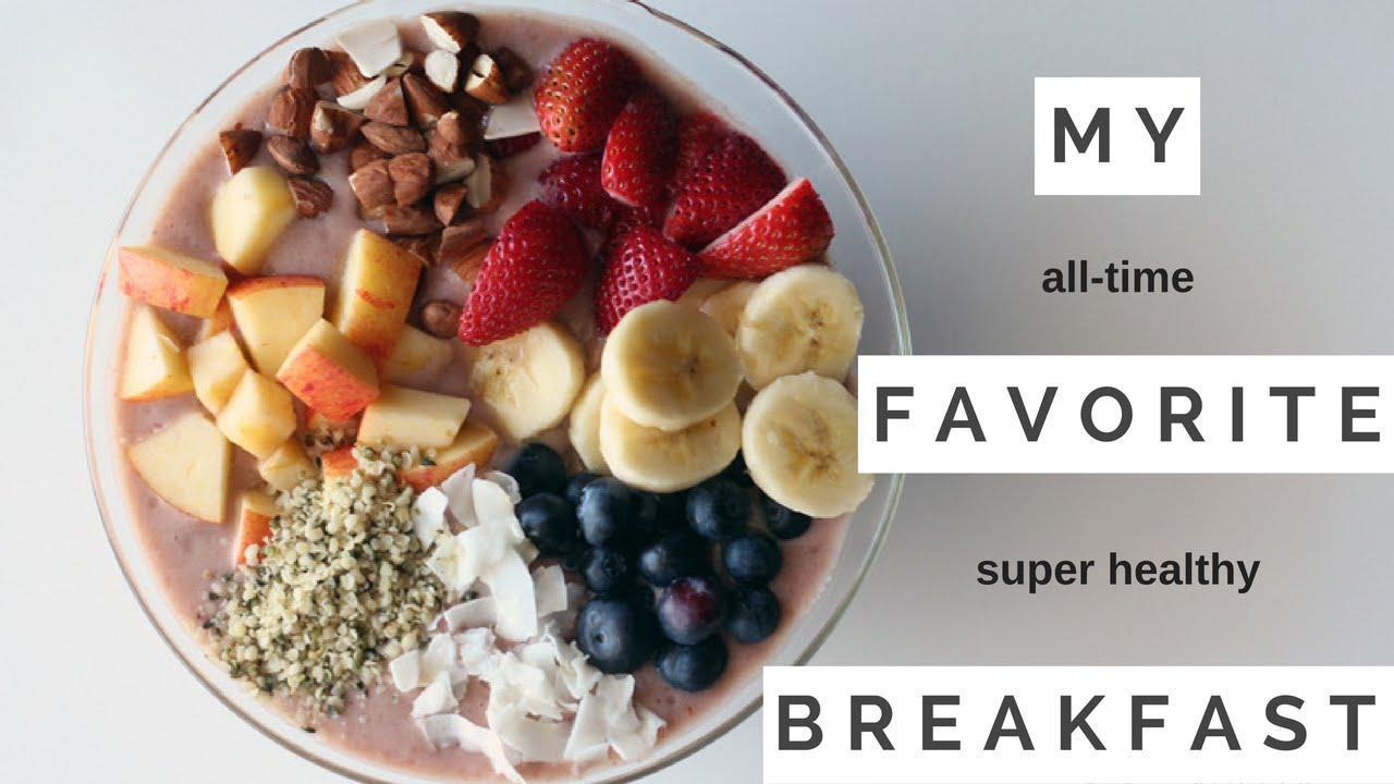 Super healthy easy to make raw vegan breakfast youtube super healthy easy to make raw vegan breakfast forumfinder Images