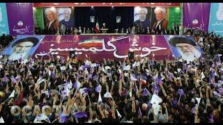 İran prezidenti Təbrizə səfər zamanı azərbaycanlıların milli şüarları ilə qarşılaşıb