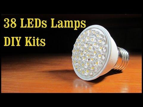 Светодиодная Лампа Kit |38 LEDs Lamps DIY Kits