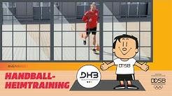 Schnelligkeit und Richtungswechsel - Heimtraining mit dem DHB | #HeimArena