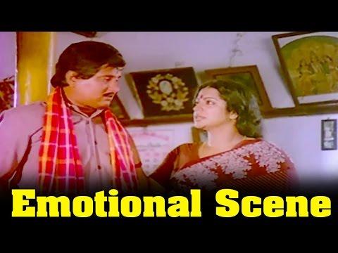 Dowry Kalyanam Movie : Visu And Srividya Best Emotional Scene