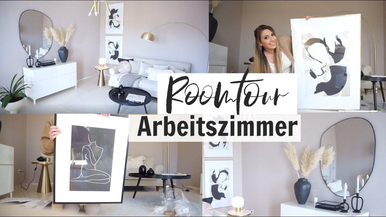 HAUSUPDATE | ROOMTOUR !  Arbeitszimmer | Gästezimmer | Deko Desenio | Westwing | Zara |MAYRA JOANN