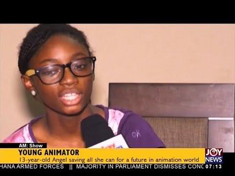 Young Animator - AM Business on JoyNews (13-12-17)