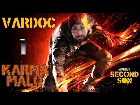 Infamous: Second Son ( Jugando Karma Malo ) ( Parte 1 ) #Vardoc1 En Español