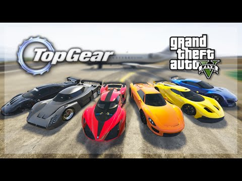 GTA 5 Online - (Top Gear Edition) Hypercars Challenge 2.0!