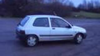 1994 Renault Clio 1.4 8v RN Drifting
