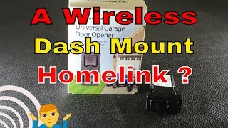 Wireless Mini Size Homelink Reviewed