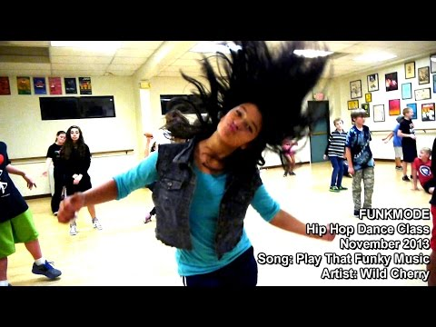 Play that Funky Music - Wild Cherry - FUNKMODE Youth Hip Hop Dance Class - Nov 2013
