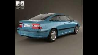 3D Model Opel Calibra 1990 at 3DExport.com