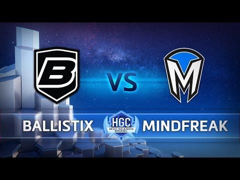 Mindfreak vs Ballistix vod