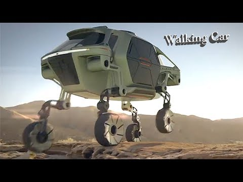 Hyundai Cradle Walking Car Concept Ces 2019 – Robot Car For Disaster Assistance.