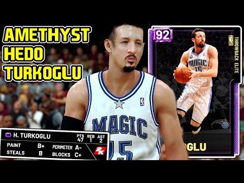 AMETHYST HEDO TURKOGLU GAMEPLAY! HES A BROKE MANS GRANGER! NBA 2k19 MyTEAM