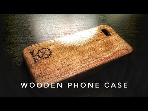 ZepLabs: Wooden iPhone Case
