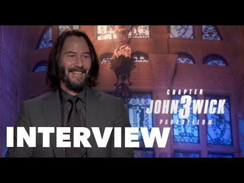 JOHN WICK 3 Cast Interviews: Keanu Reeves, Halle Berry, Ian McShane, Lance Reddick