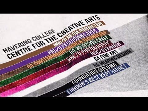 Art Design Btec Foundation Diploma Havering College Youtube