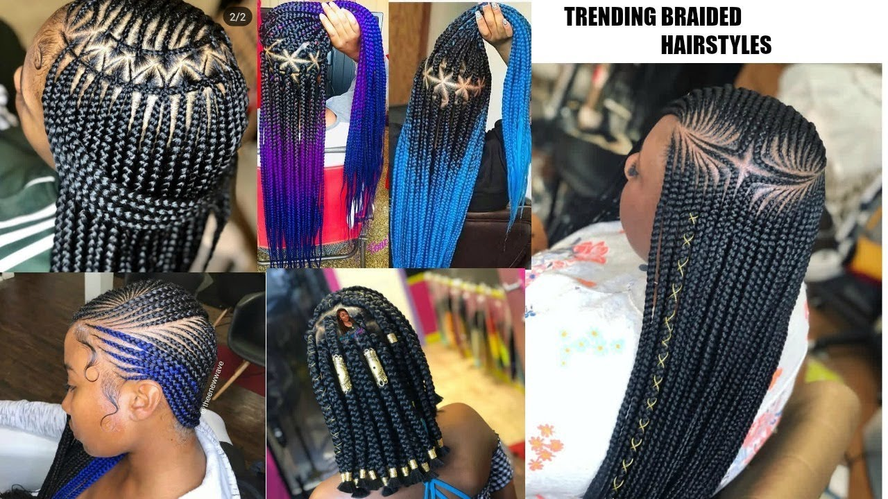 2019 Hottest Braided Hairstyles Compilation Ogc Youtube