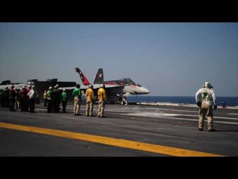Carrier Strike Group USS Carl Vinson Patrol In South China Sea Update