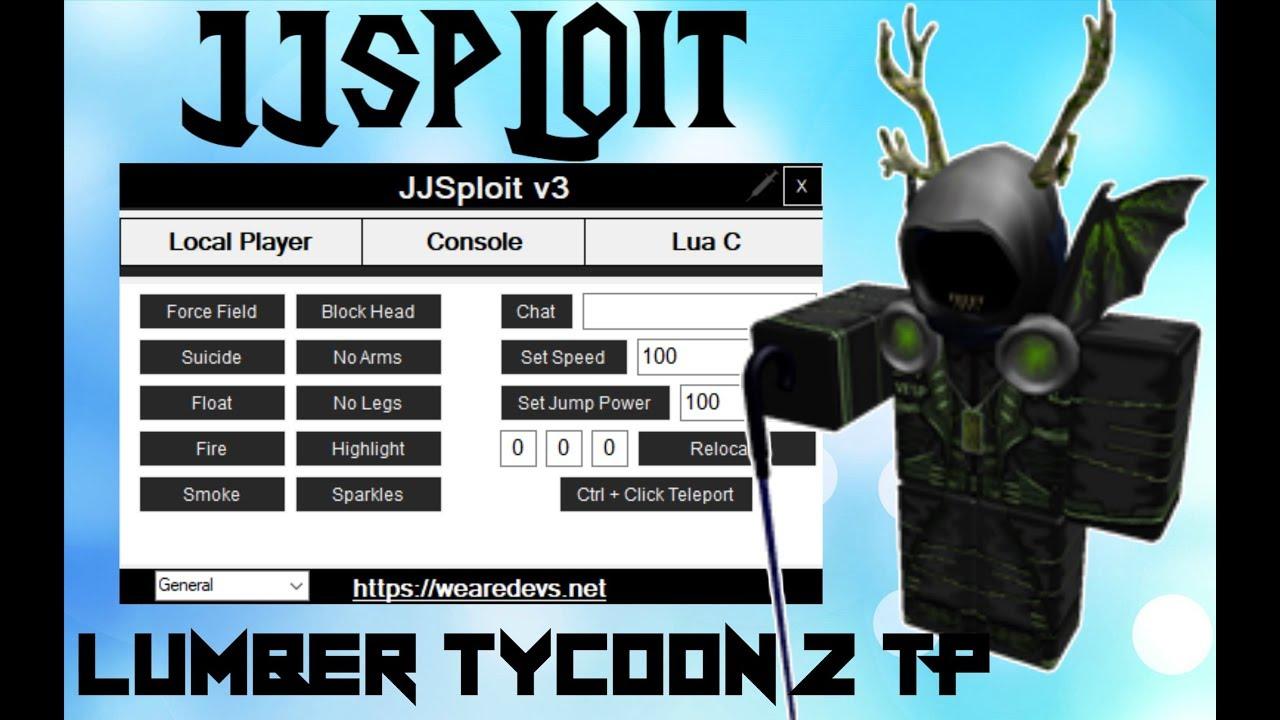 Roblox Exploit/Hack:JJSploit(Unpatched)APOC Rising,Lumber Tycoon