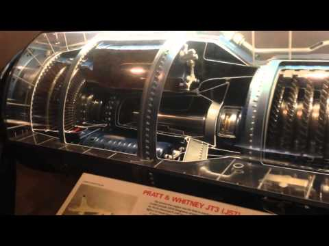 Jet Engine Propulsion Internals at the Smithsoniam National Air & Space Museum