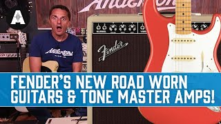 Fender's Road Worn Guitars Are Back PLUS New Tone Master Blonde Amplifiers!