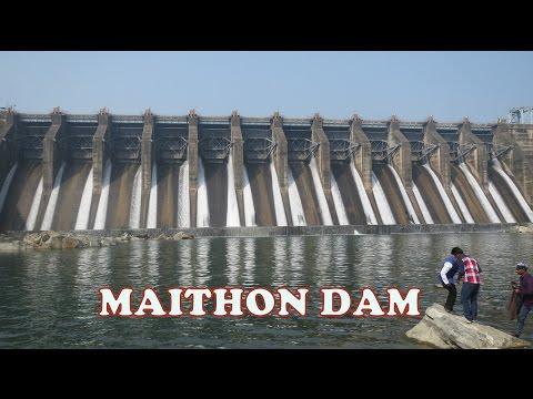 Maithon Dam | Vlog | Flood Gates view | A journey on road