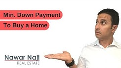 Minimum Down Payment to Buy a Home, Condo or Investment Property