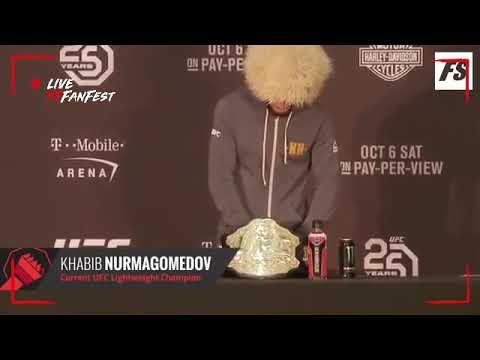 klarifikasi Khabib Nurmagomedov menyerang tim Conor McGregor